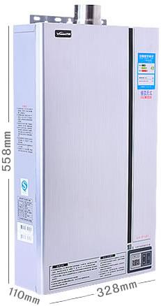 万和燃气热水器天然气JSQ20-10P3 V10强排恒温